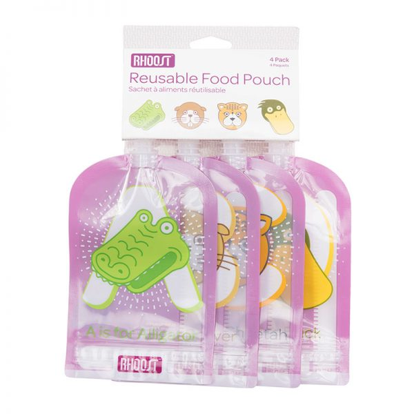 Rhoost Reusable Food Pouch