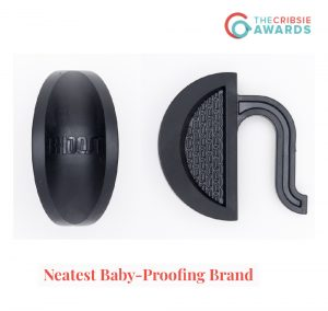 Cribsie Award Rhoost Neatest Baby Proofing Brand