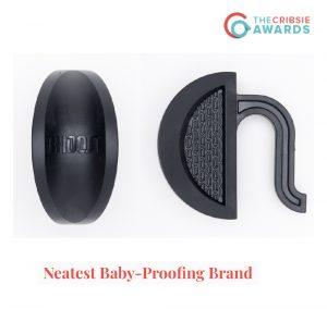 Cribsie Award Rhoost Neatest Baby Proofing Brand